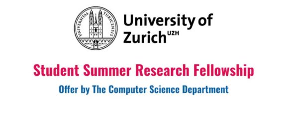 Summer Research Fellowship 2017 in Zurich