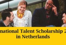 International Talent Scholarship in Netherlands 2018