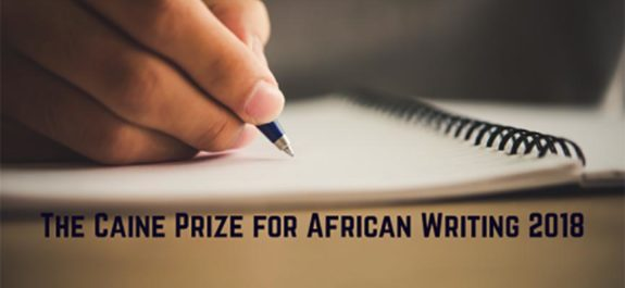 The Caine Prize for African Writing 2018