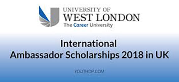 International Ambassador Scholarships 2018 in UK