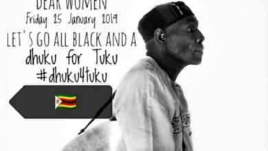 Zim Celebs Honour #DhukuForTuku