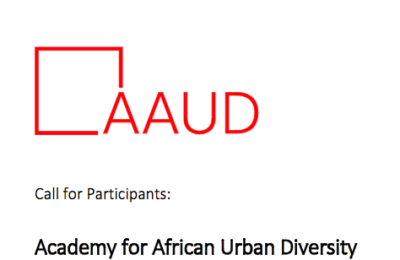2017 Academy for African Urban Diversity for Doctoral Students