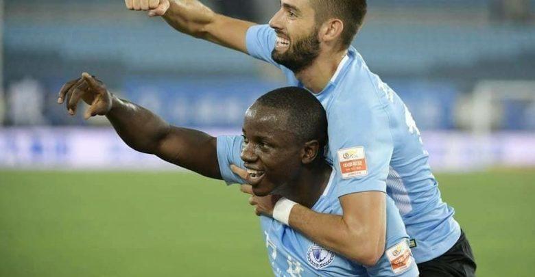 Nyasha Mushekwi's Scores Dalian Yifang to Victory
