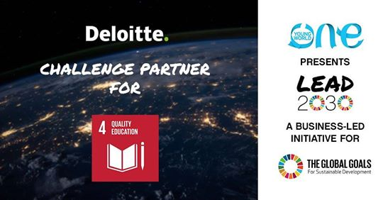 One Young World/Deloitte Lead 2030 Challenge