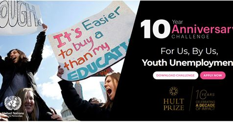 Hult Prize 10th Year Anniversary Challenge 2019