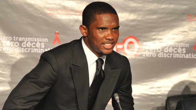FC Barcelona Star Eto'o Faces10-Year Jail-time Sentence