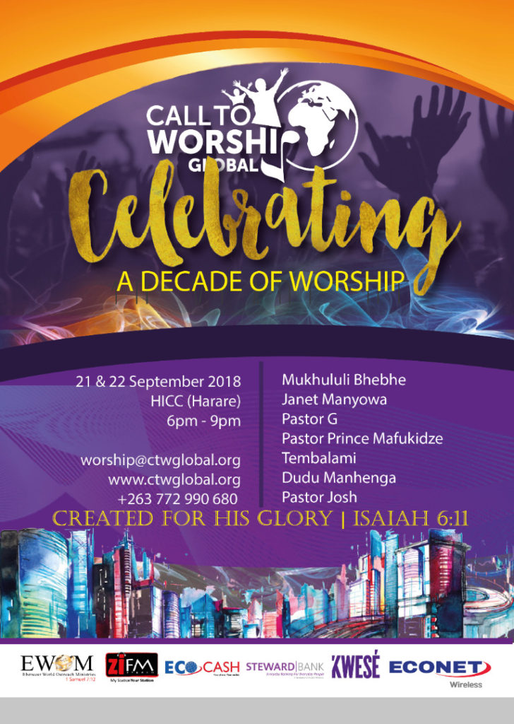 All set for Call To Worship's 10th anniversary festival