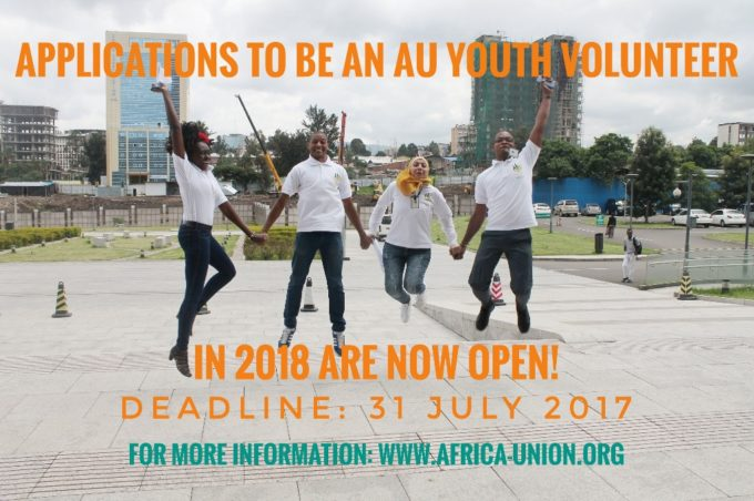 8th Batch African Union Youth Volunteer Corps (AU-YVC) 2018