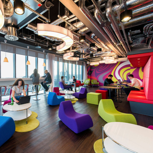 Google business internship for international students for Award winning office interiors