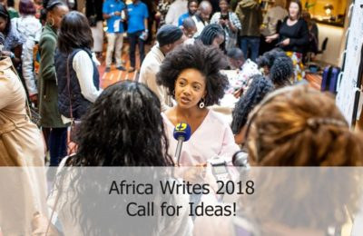 Africa Writes 2018– Call For Ideas