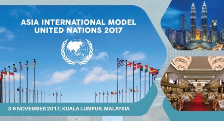 Asia International Model United Nations in Malaysia 2017