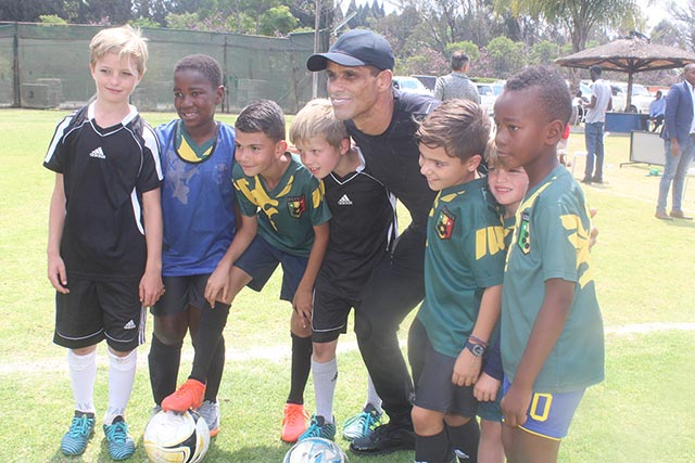 Rivaldo Considering A Soccer Academy in Zim