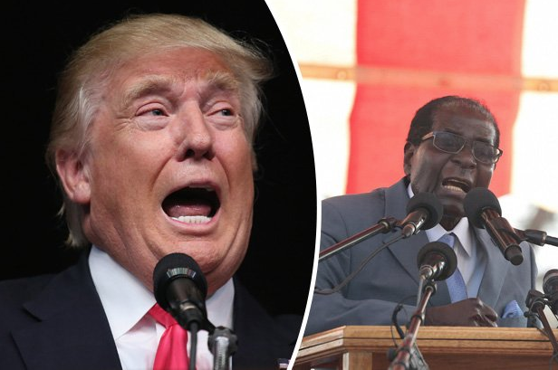 ''Be Nice To Me, My Pal Trump Might Win White House''- President Mugabe