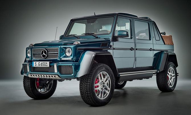 Beauty! : The new Mercedes-Maybach G 650 Landaulet