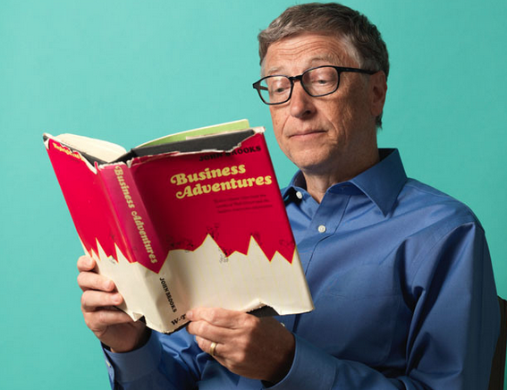 Bill Gates' Top My Favorite Books of 2016