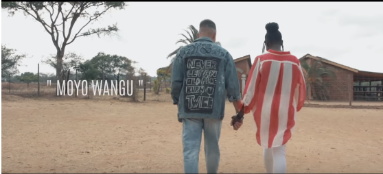 Cleo Shows Cuteness In Moyo Wangu Music Video