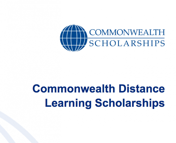 Commonwealth Distance Learning Scholarships 2017