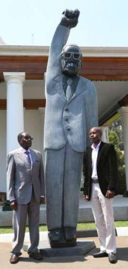 Dominic Benhura Denies Statue Mocks Mugabe