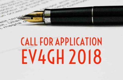 Emerging Voices for Global Health 2018 (EV4GH 2018)