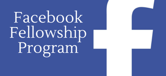 Facebook Fellowship Program 2017