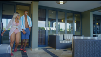 Freeman Kicks It With Bae In 'Zuva' Music Video