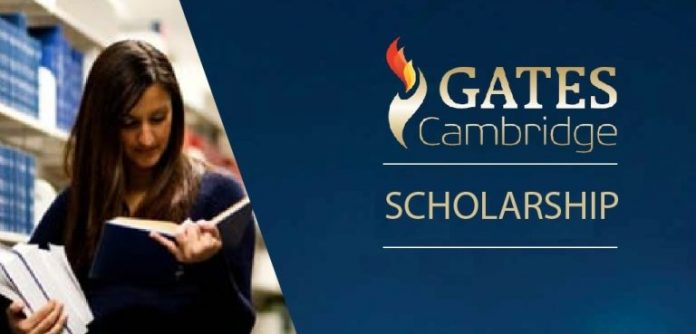 Gates Cambridge Scholarship Programme 2018