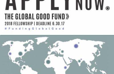 Global Good Fund 2017/2018 Fellowships for young Social Entrepreneurs