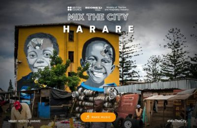 The British Council Launches 'Mix The City Harare'