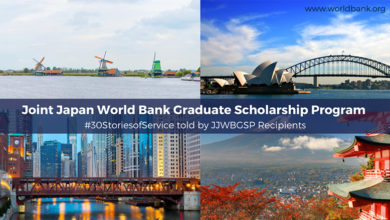 Joint Japan/World Bank Graduate Scholarship Program