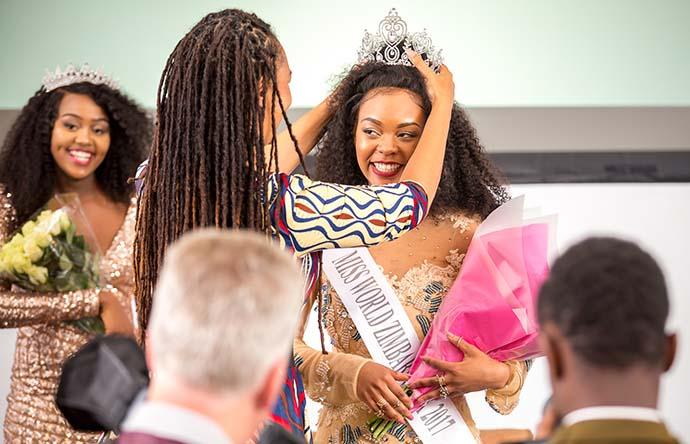 Karen Kawadza wins Miss World Zimbabwe UK 2017