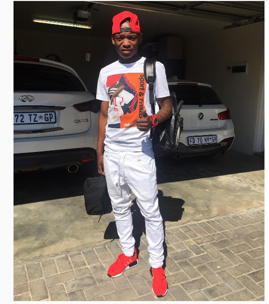Khama Billiat Sends A Cute Birthday Shout Out To His Mom