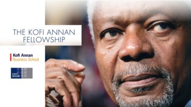 Kofi Annan Fellowship For Emerging Leaders At ESMT Berlin