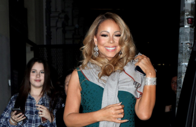 Mariah Carey's Walk of Fame star vandalised