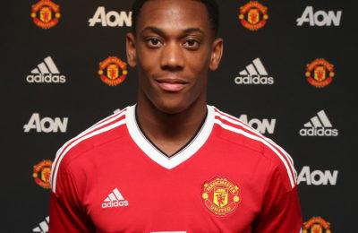 Martial Reveals His Brazilian Idols