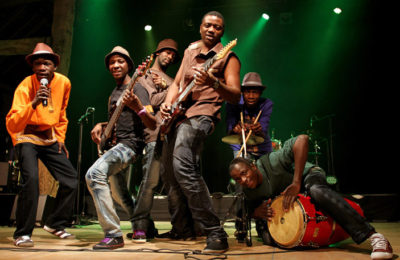 Mokoomba's Third Album Enters European Music Chart