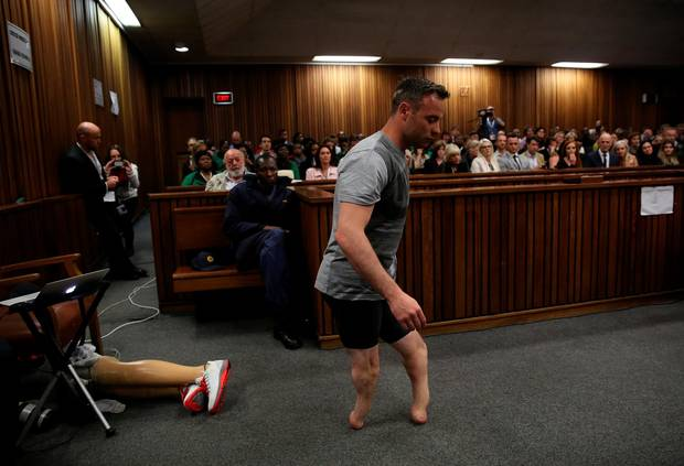 Oscar Pistorious Sentenced 6 Years In Prison For The Murder Of Reeva