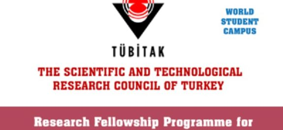 TUBITAK Research Fellowship Programme 2018