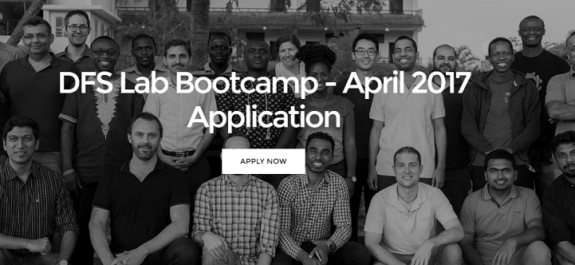 DFS Lab Bootcamp Application 2017