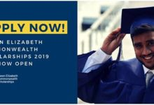 Queen Elizabeth Commonwealth Scholarships Scheme 2019