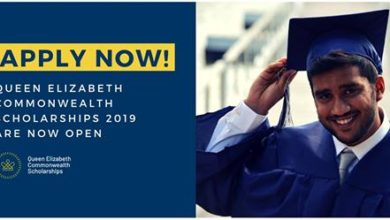 Queen Elizabeth Commonwealth Scholarships Scheme 2019