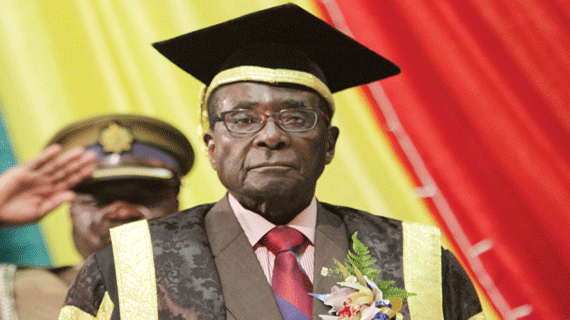 President Mugabe Is The World's Most Educated President