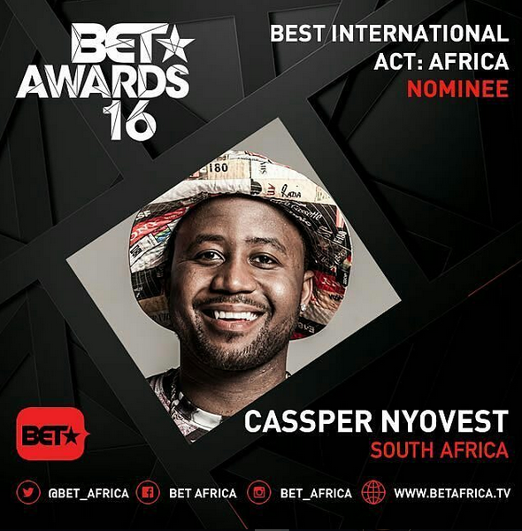 BET Awards 2016 African Nominees