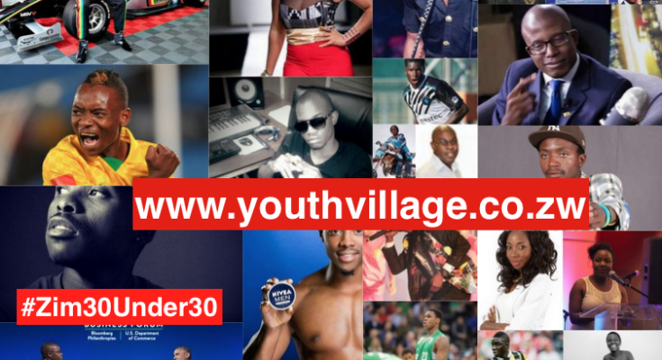 Zimbabwe's Top 30 Under 30 Inspirational Youth In 2016