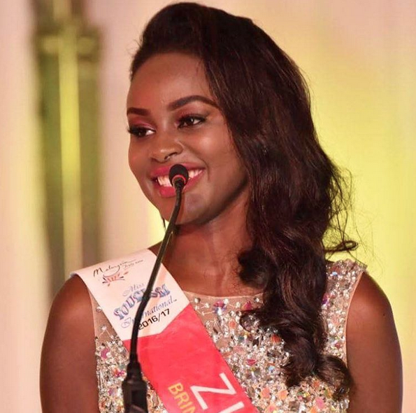 """Made Top 10 And That Can Only Be God's Favour"" Says Reigning Miss Tourism Zim, Ashley Morgen"