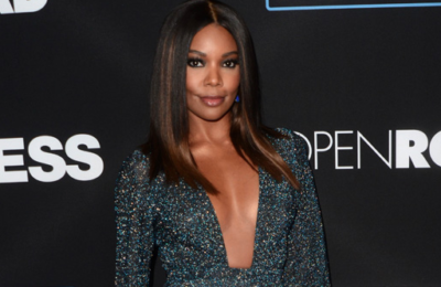 Gabrielle Union shows off her ample assets at the 'Sleepless' Los Angeles premiere