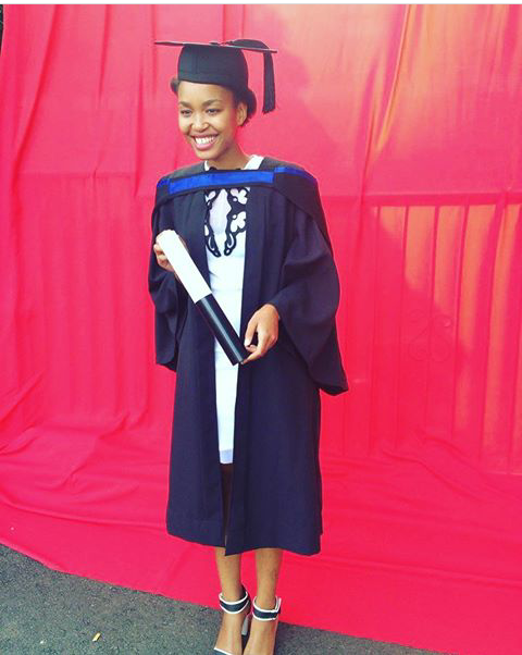 Berita Khumalo graduation throwback