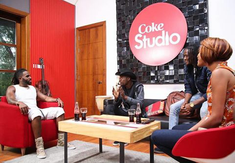 PICS! Jah Prayzah Hits Coke Studio With Jason Derulo