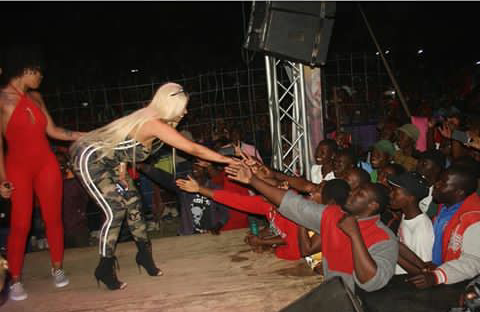 Ginimbi Hosts American Stripper Youth Village Zimbabwe