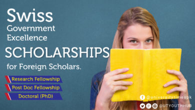 Swiss Government Excellence Scholarships for Foreign Students