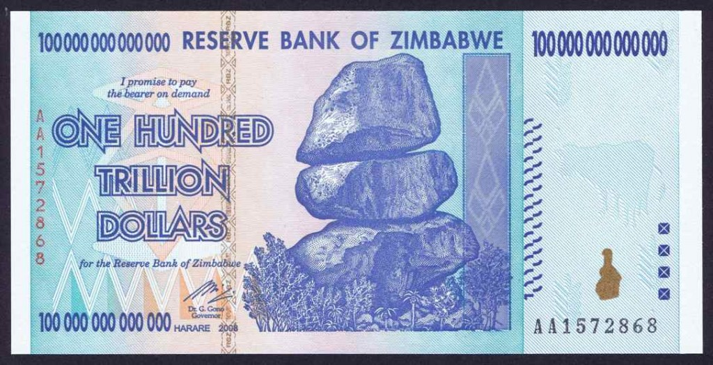 The Reserve Bank Of Zimbabwe Rbz Is Going To Ask People Bring In Zimbabwean Notes Exchange For Us An Attempt End Issues